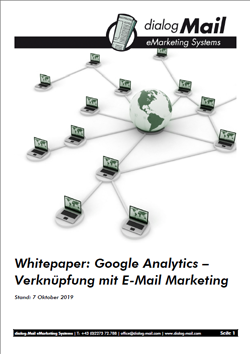 Whitepaper: Verknüpfung von E-Mail Marketing mit Google Analytics